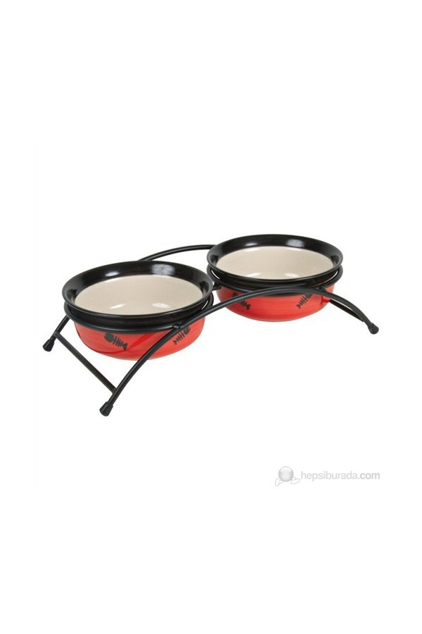 Trixie Cats Water and Food Bowl Set
