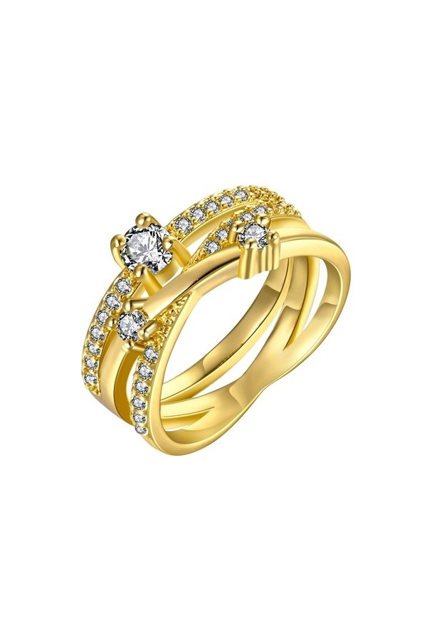 Byzinci Gold Plated Ring