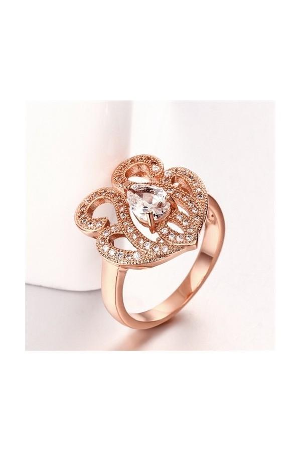 Byzinci Gold Ottoman Ring 18 Carat