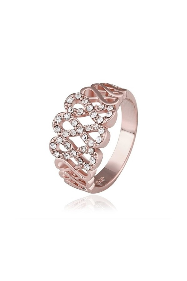 Byzinci Pleated Gold Women's Ring