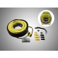 Forx 4 Ga Profesyonel Seri Kalın Oto Amfi Kablo Seti