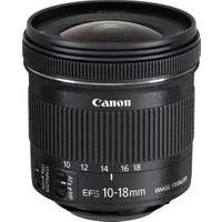 Canon EF-S 10-18mm f/4.5-5.6 IS STM Lens (Canon Eurasia Garantili)