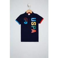 U.S. Polo Assn. Lacivert T-Shirt 50232555-VR033