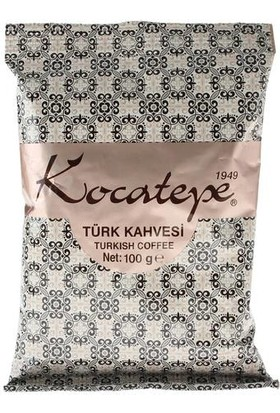 Kocatepe Türk Kahvesi 100 gr Folyo 3lü Paket