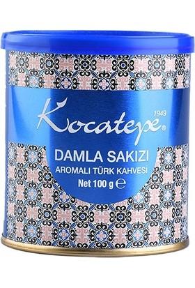 Kocatepe Türk Kahvesi Damla Sakızı Aromalı 100 gr Teneke 2li Paket