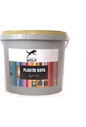 Wolf Plastik Boya Marjinal Gri 20 kg