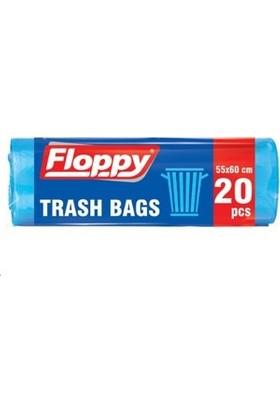 Floppy Orta Boy Çöp Torbası 55X60 30L Lt 20'li 70 gr 10 'li