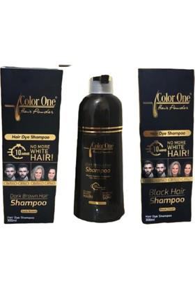 Color One Hair Saç Siyahlaştırıcı Şampuan Boya 300 ml