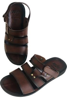 Bento Erkek Sandalet Terlik Genç Yetişkin Model 40-45 Numara