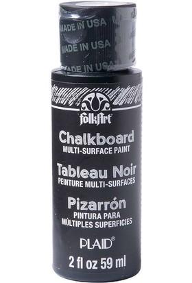 Plaid Folkart Chalkboard Kara Tahta Boyası Siyah 59 ml