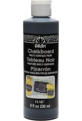 Plaid Folkart Chalkboard Kara Tahta Boyası Siyah 236ML