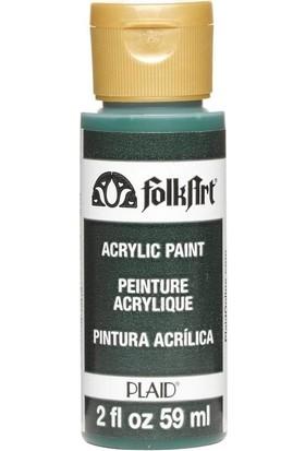 Plaid Folkart Akrilik Boya 59 ml Green Forest