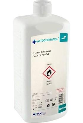 Actodermanol Actodermanol 500 ml El ve Vücut Dezenfektanı