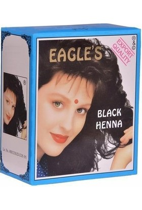 Hint Kınası Siyah 6'lı 60 gr