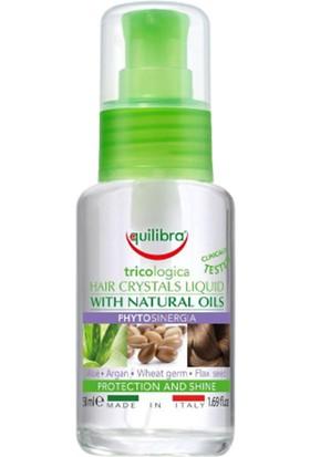 Equilibra Hair Crystal Liquid Doğal Yağlar Içeren Saç Serumu 50ML