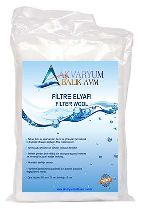 Akvaryum Balık Avm Akvaryum Filtre Elyafı 150CM x 20CM