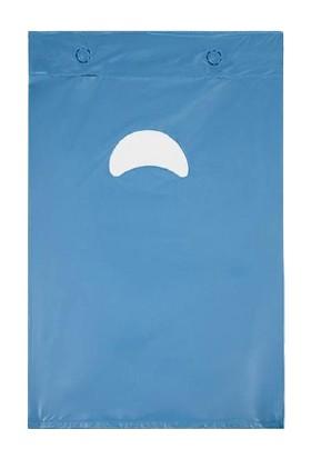 Naksan Poşet Blok Poşet Mavi Renk 26 x 38 No:2 500'lü