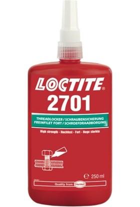 Loctite 2701 250 ml Yüksek Mukavemetli Sökülemez Civata Sabitleyici