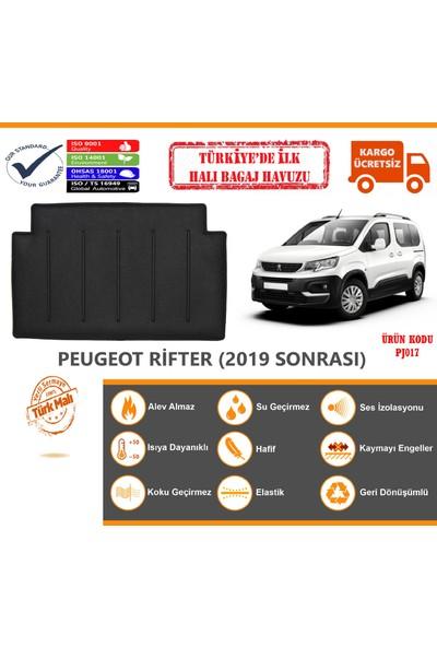Öz-i̇ş Peugeot Rifter Halı Bagaj Havuzu (2019 Sonrası)