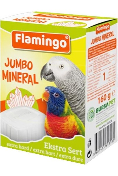 Flamingo Jumbo Mineral Gaga Taşı 1 Adet