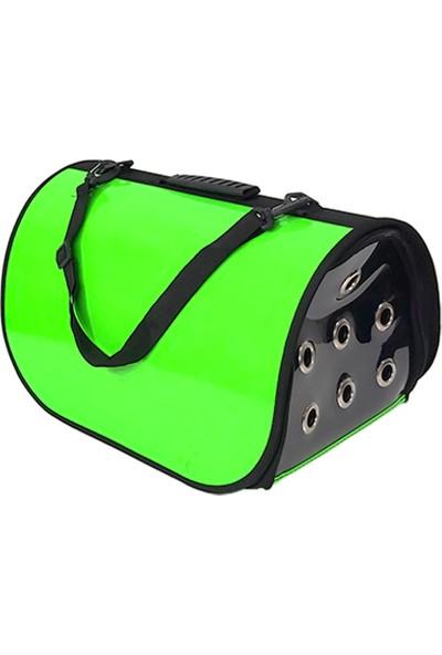 Markapet Flaybag Kedi Köpek Taşıma Çantası 25X26X42 cm Fosfor Yeşil