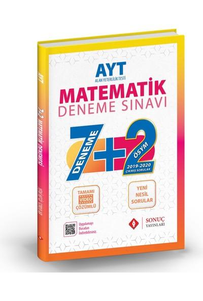 Sonuç AYT Matematik 7+2 Deneme Sınavı 2021-2022
