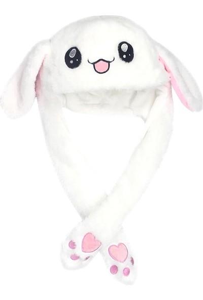 Buyfun Sevimli Komik Tavşan Şapka Hareketli Tavşan (Yurt Dışından)