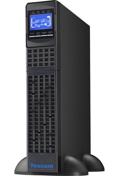 Tescom Ups Kesintisiz Güç Kaynağı Teos 1000RT 1000 VA/900 W