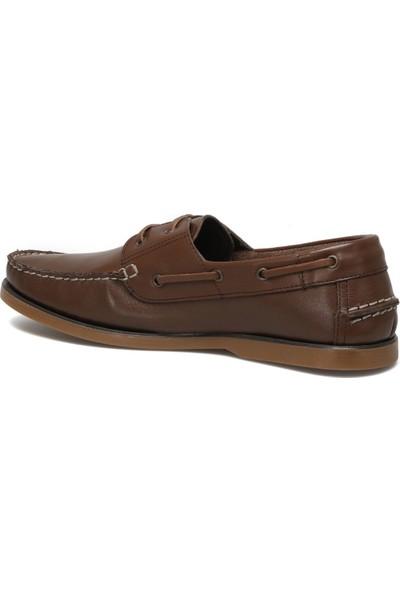 Salvano Marcel 1fx Kahverengi Erkek Marin Ayakkabı
