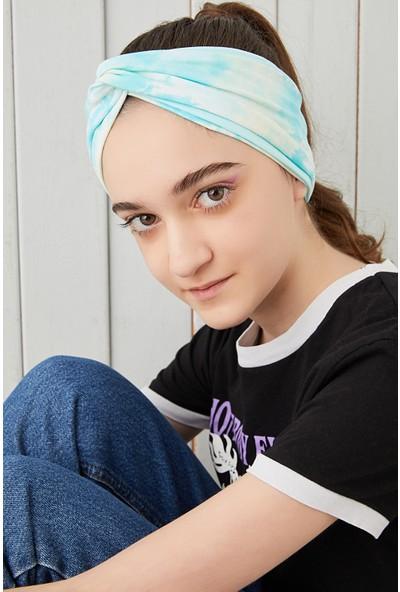 Babygiz Batik Doğa Çocuk Genç Bandana Saç Bandı Ekstra Yumuşak Esnek Pamuklu Penye