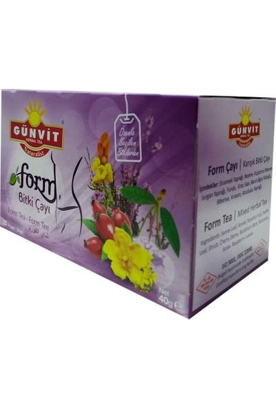 Günvit Form Karışık Bitki Çayı 20 Süzen Poşet
