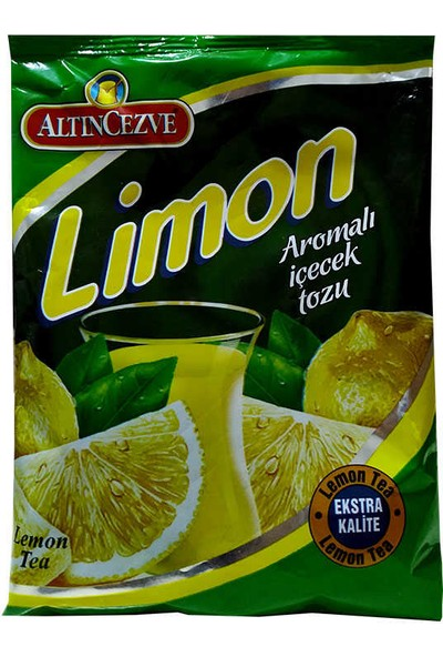 Altıncezve Limon Aromalı Içecek Tozu 300 gr