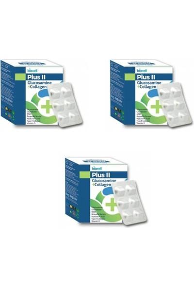 Biowell Plus Iı Glucosamine+Collagen 60 Kapsül ( 3 Adet )