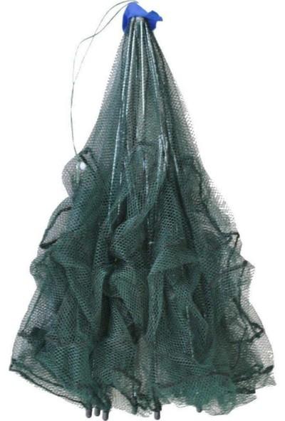 Realx 16 Gözlü Balık Yengeç Ağı Tuzağı Olta Yerine Kuş Kapanı Büyük Boy