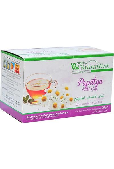 Günvit Naturalist Papatya Bitki Çayı 20 Süzen Pşt