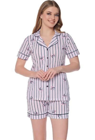Alperi 76236 Kadın Yazlık Şort Pijama Takım