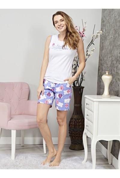 Çelebi 110 Kadın Şortlu Pijama Takım