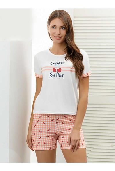 Alperi 76214 Kadın Yazlık Şort Pijama Takım