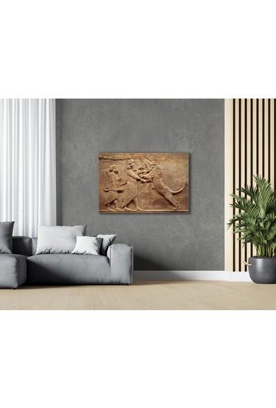 Treedi Art Asur Sanatı Dekoratif Tablo