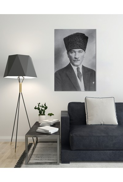 Treedi Art Atatürk Dekoratif Tablo