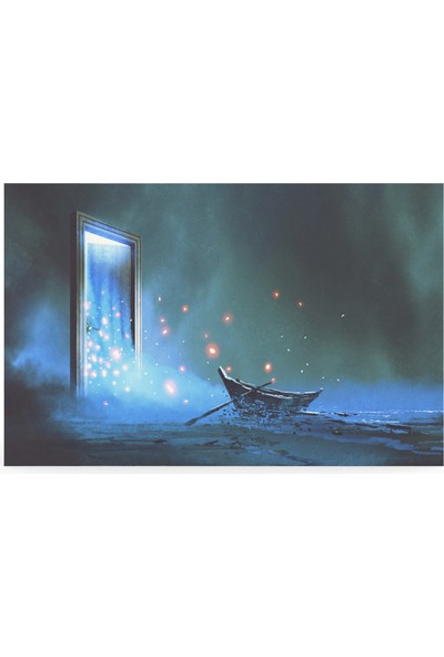 Treedi Art Sihirli Kapı Dekoratif Tablo
