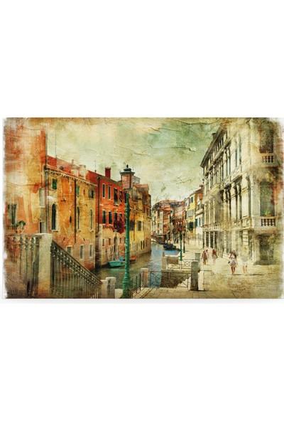 Treedi Art Venedik Sokakları Dekoratif Tablo
