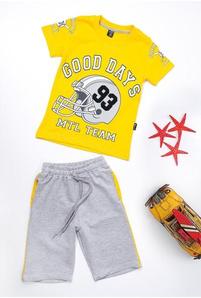 Lifeformoda Mtl Erkek Çocuk Good Days 93 Baskılı Şortlu Takım