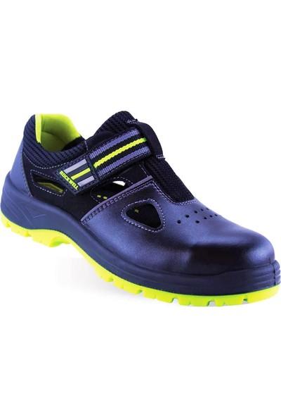 Rockwell Oberon S1 Esd Siyah Süet Iş Ayakkabısı
