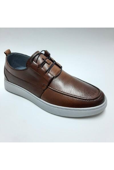 Bordolli Hakiki Deri Günlük Erkek Ayakkabı