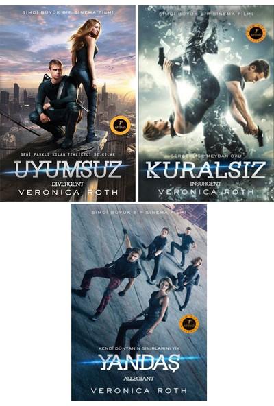 Uyumsuz Serisi Özel Film Baskısı 3 Kitap Set / Veronica Roth / Kuralsız - Yandaş - Uyumsuz