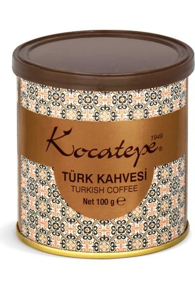 Kocatepe Türk Kahvesi 100 gr Teneke 2li Paket
