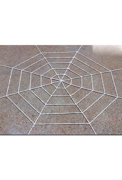 Samur Halloween Cadılar Bayramı Örümcek Ağ Dekor Beyaz 2,50 M 1 Adet