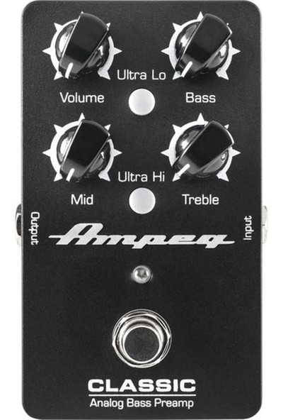 Ampeg Classic Analog Bas Gitar Preamp Pedalı