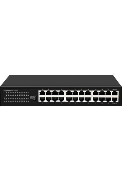 Ods 24 Port Gigabit 10/100/1000M Ethernet Switch